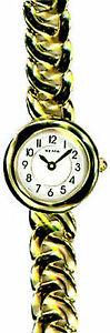 【送料無料】yema ladies gold plated watch ym804ynp