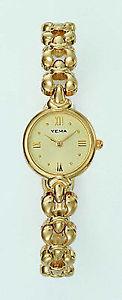 【送料無料】yema ladies gold plated watch ym880ynp