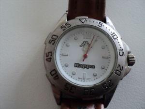 【送料無料】kappa mens quartz watch working