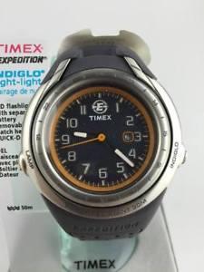 【送料無料】orologio timex expedition t41651 watch rubber led sport torcia analogico