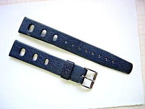 【送料無料】bracelet caoutchouc 16 mm racing plonge diving watch diver taucher bleu n11
