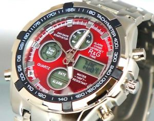【送料無料】xxl uhr herrenuhr multifunktion wasserdicht military watch alarm chrono box r