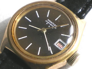 【送料無料】ancienne montre mecanique pour dame pontiac