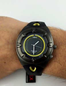 【送料無料】orologio timex icontrol indiglo t20371 watch tempo data alarm wr 50 m led sport