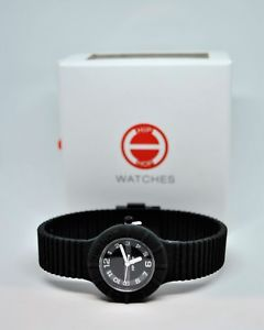 【送料無料】orologio nero blu gomma hip hop watches