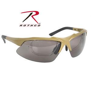 【送料無料】10537 rothco coyote brown sport safety tactical eyewear kit