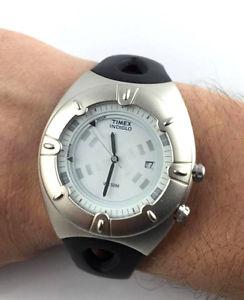【送料無料】orologio timex icontrol indiglo t20351 watch tempo data alarm wr 50 m led sport
