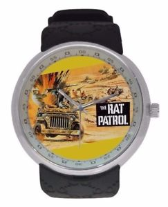 【送料無料】vintage collectible the rat patrol watch hit tv show world war 2 watches unique