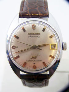 vintage  longines ultrachron mens automatic watch cal 431 1960s* exlnt serviced