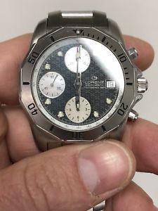【送料無料】lorenz 38 mm automatico chrono chronograph cronografo steel acciaio