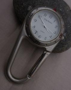 【送料無料】clip sonic baya ancienne montre mousqueton,bon etat dusage fonctionnel 1995