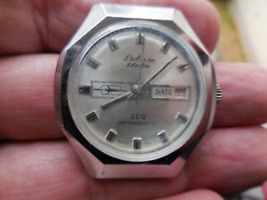 【送料無料】ancienne montre bolivia suisse electra 360,mecanique a date,a,reabiliter 1960