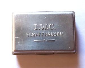 【送料無料】iwc aluminium dschen fr ersatzteile oder uhrwerk c 87