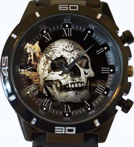 【送料無料】gothic skull gt series sports wrist watch fast uk seller