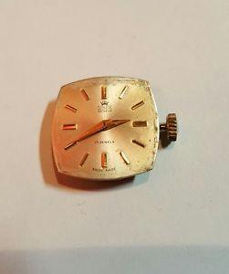 【送料無料】orologio vintage con cinturino da donna sinex geneve 17 jewels swiss made