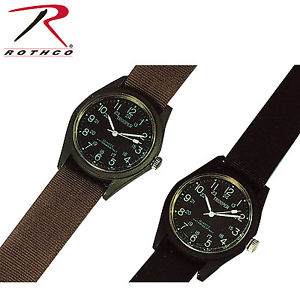 【送料無料】rothco 4104 4105 4605 field watch