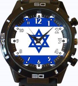 【送料無料】flag of israel gt series sports wrist watch