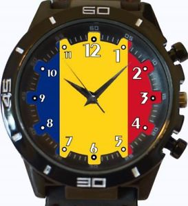 【送料無料】flag of romania gt series sports wrist watch