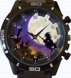 【送料無料】witch on broom fullmoon gt series sports wrist watch fast uk seller