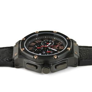 meister limited edition chinese  year ambassador watch; ostrich leather