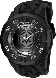 invicta mens star wars swiss quartz 200m stainless steelsilicone watch 26174