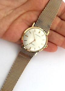 【送料無料】vintage longines cosmo classy mens wrist watch 10k gf1100 runs