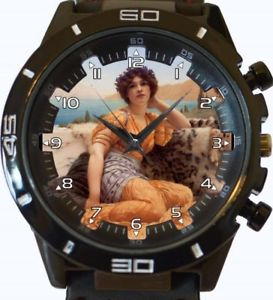 【送料無料】lady art painting gt series sports wrist watch
