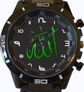 【送料無料】allah religion islam gt series sports wrist watch fast uk seller