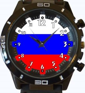 【送料無料】flag of russia gt series sports wrist watch