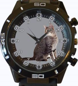 【送料無料】egyptian mau cat gt series sports wrist watch
