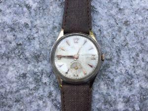 【送料無料】orologio sneda anni 5060 vintage collezione meccanico cinturino pelle nuovo
