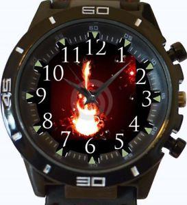 【送料無料】guitar on fire gt series sports wrist watch
