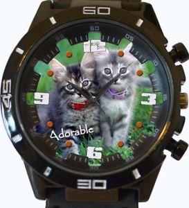 【送料無料】adobarable cats gt series sports wrist watch