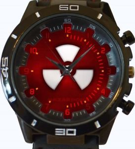 【送料無料】nuclear hazardous sign gt series sports wrist watch