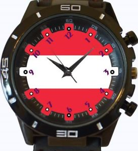 【送料無料】flag of austria gt series sports wrist watch