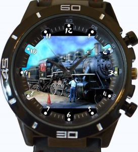 【送料無料】steam engine retro gt series sports wrist watch