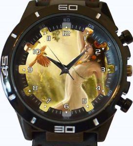 【送料無料】fantasy girl art collector beautiful gt series sports wrist watch