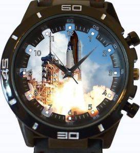 【送料無料】space shuttle launch gt series sports wrist watch