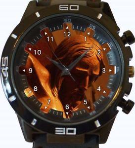 【送料無料】jesus statue gt series sports wrist watch fast uk seller