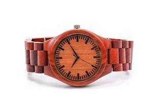 【送料無料】fathers day gift custom engraved wooden watch personalized wood watch groomsman
