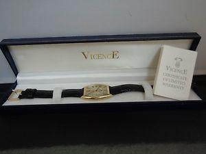 【送料無料】14k gold watch in original box by vicence