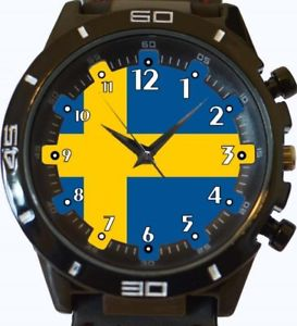【送料無料】flag of sweden gt series sports wrist watch