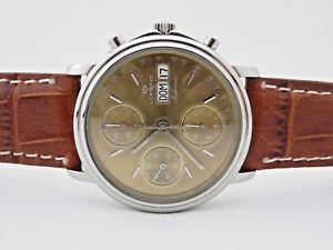 【送料無料】lorenz chronograph automatic uomo 36 mm valjoux 7750 revisionato box amp; papers
