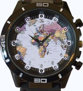 【送料無料】world map gt series sports wrist watch