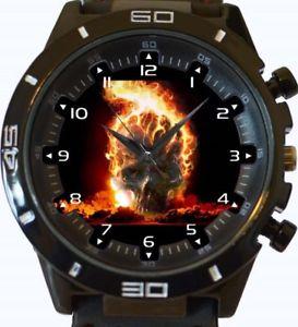 【送料無料】skull fireball gt series sports wrist watch fast uk seller