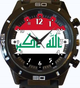【送料無料】flag of iraq gt series sports wrist watch