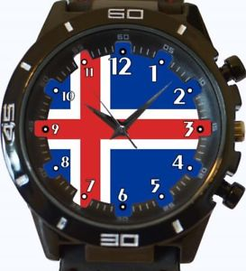【送料無料】flag of iceland gt series sports wrist watch