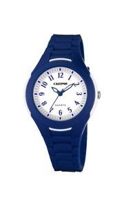 【送料無料】calypso watches k570075 wei blau neu 1 batterie extra