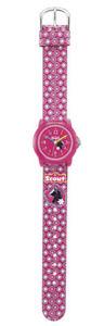 【送料無料】scout mdchen kinderuhr crystal 280305012 analog  pink