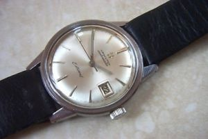 a hamiliton estoril automatic calender wristwatch cmid 1960s